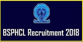 BSPHCL-Recruitment