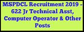 मणिपुर (MSPDCL) बिजली विभाग भर्ती 2019 / पोस्ट 622/ आवेदन/ एप्लीकेशन फॉर्म
