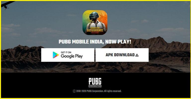 PUBG mobile game Download
