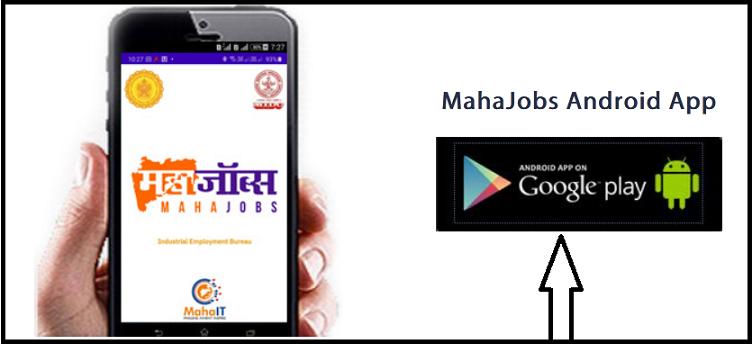 Maha jobs Android app