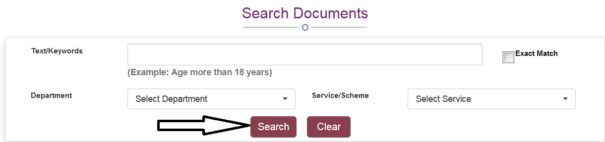 saral search schemes/ services 2
