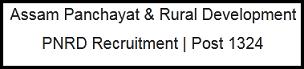 pnrd recruitment
