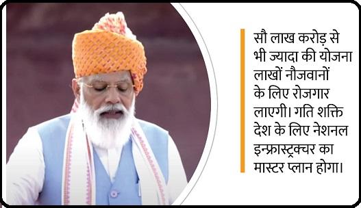 Pradhan Mantri Gati Shakti Yojana