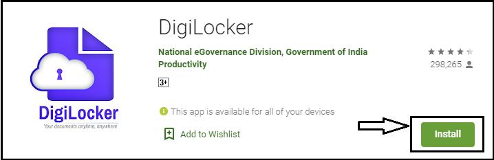 digilocker app install
