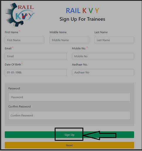Rail Kaushal Vikas Scheme trainee