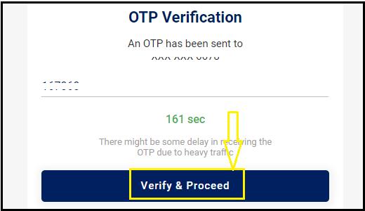 cowin website Verify & Proceed